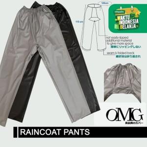 Katalog Celana Jas Hujan Karet Omg Waterproof Raincoat Pants Anti Air Pvc Katalog.or.id