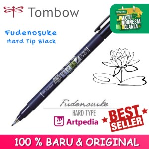Harga Tombow Fudenosuke Brush Pen Hard Tip Black Katalog.or.id