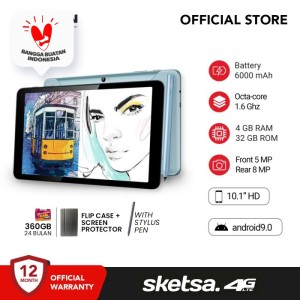 Harga advan tab sketsa 10 inci 4 gb 32 gb tablet android garansi | HARGALOKA.COM