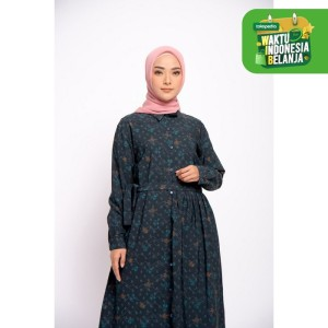 Harga zm zaskia mecca   gleen black dress   guntur garut   | HARGALOKA.COM