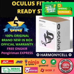 Harga oculus quest 2 fit pack with 2 facial interfaces and light blocker | HARGALOKA.COM