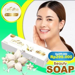 Harga sabun collagen kulit kering   rawdha sabun wajah untuk usia 40 | HARGALOKA.COM