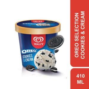 Harga es krim walls oreo cookies amp cream rasa vanilla 410 | HARGALOKA.COM