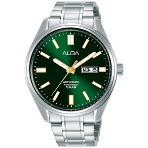 Harga jam tangan pria alba automatic original green al4147x1 | HARGALOKA.COM