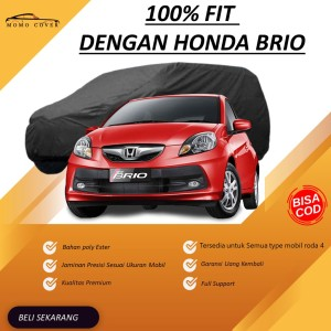 Harga body cover outdoor honda brio momo cover custom warna waterproof agya   yaris | HARGALOKA.COM