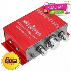 Harga lepy hi fi stereo amplifier speaker 2 channel 20w   hy 2001   | HARGALOKA.COM
