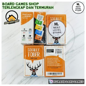 Harga sotally tober board game drinking card games party fun | HARGALOKA.COM
