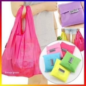 Harga tas belanja lipat tas belanja pasar tas lipat shopping recycle bag   | HARGALOKA.COM
