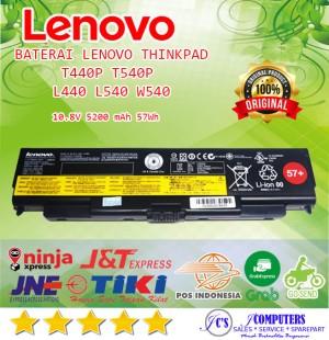 Harga baterai batre battery lenovo thinkpad w540 t540p l440 t440p | HARGALOKA.COM