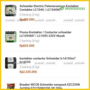 Harga order ibu sri komponen komponen listrik paet | HARGALOKA.COM