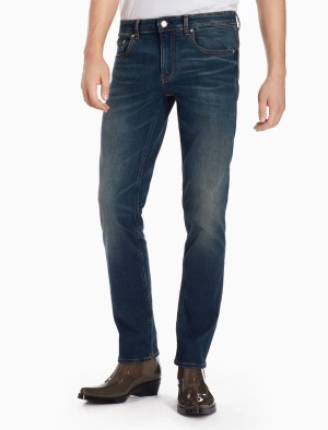 Harga calvin klein   celana jeans pria   ckj 027 body   biru   HARGALOKA.COM
