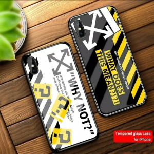 Harga premium case casing glass for oppo a37 neo 9 motif off | HARGALOKA.COM