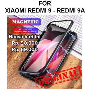 Harga case xiaomi redmi 9   redmi 9a casing hp cover tempered glass magnetic   redmi 9 | HARGALOKA.COM