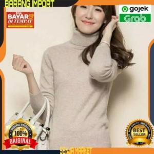 Harga sweeter sweater switer suiter suwiter sweter turtleneck wanita | HARGALOKA.COM