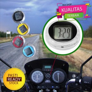 Harga dekorasi motor jam mini digital 118i warna random     HARGALOKA.COM