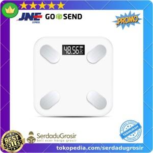 Harga taffware timbangan badan digital smart scale battery   sc 15 | HARGALOKA.COM
