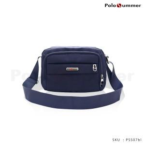 Harga tas selempang   tas pria   polo summer hazel shoulder bag   blue | HARGALOKA.COM