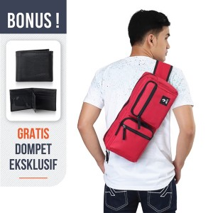 Harga tas sling bag tas selempang pria porta studio smm | HARGALOKA.COM