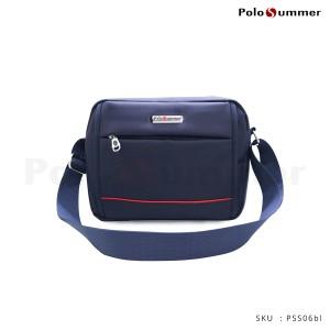 Harga tas selempang   tas pria   polo summer sean shoulder bag   blue | HARGALOKA.COM