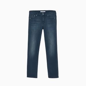 Harga calvin klein   celana jeans pria   027 body jeans biru denim   biru   HARGALOKA.COM