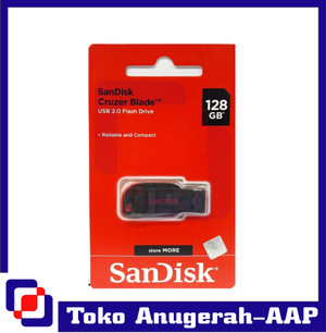 Harga flashdisk sandisk cruzer blade 128 | HARGALOKA.COM