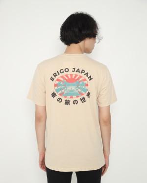 Harga erigo t shirt wagon japan cream   | HARGALOKA.COM
