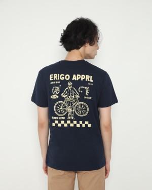 Harga erigo t shirt healty bike navy     HARGALOKA.COM