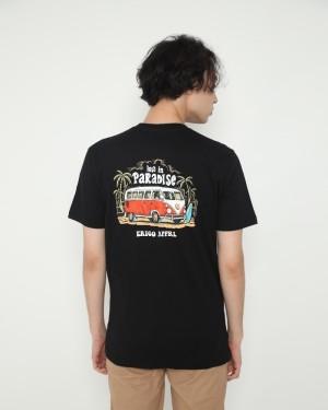 Harga erigo t shirt lost in black   | HARGALOKA.COM