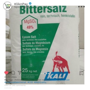 Harga high quality garam inggris epsom salt magnesium sulphate ex | HARGALOKA.COM