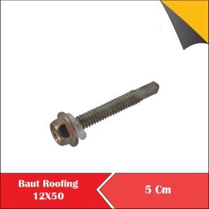 Harga baut baja ringan 12 x 50 5 cm baut roofing 12x50 per bungkus | HARGALOKA.COM