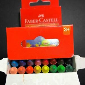 Info Wax Crayon Faber Castell Reguler 75mm 12 Ecer Katalog.or.id