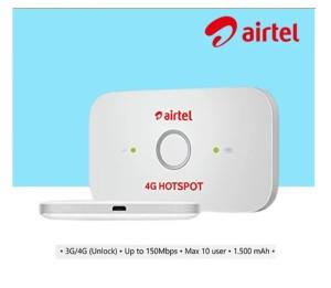 Harga modem wifi airtel e5573c 4g lte hotspot unlock all sim card | HARGALOKA.COM