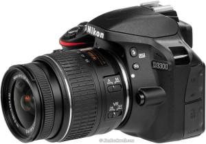 Harga nikon d3300   24 2 mp   lensa kit 18 55mm vrii   hitam   garansi | HARGALOKA.COM