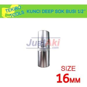 Harga tekiro deep socket kunci busi 16mm 1 2 34 | HARGALOKA.COM