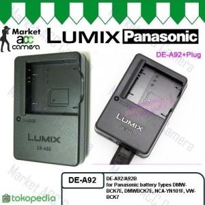 Harga charger lumix panasonic de a92 for dmw bck7e dmc fh2 fh4 fh5 fh7 s1 | HARGALOKA.COM
