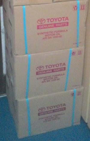 Harga oli tmo 10w 40 galon 4 liter paket per   HARGALOKA.COM