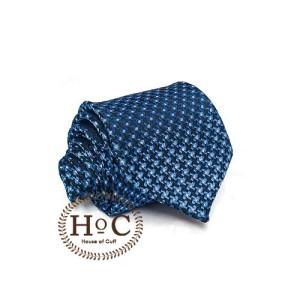 Harga dasi necktie slim motif wedding best man dasi blue glowing dots   2 | HARGALOKA.COM