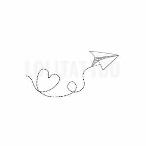 Harga lolitattoo temporary tattoo heart paper   HARGALOKA.COM