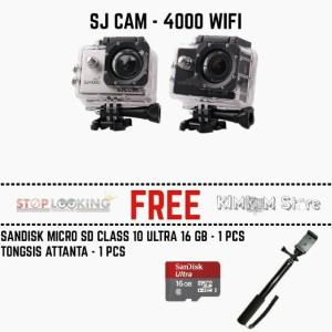 Harga kamera sj4000 wifi monopod mmc 16 gb lt gt gopro lt gt xiaomi yi sj | HARGALOKA.COM