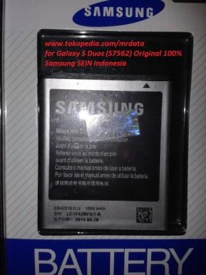 Harga baterai batre battery samsung galaxy s duos s7562 original 100 | HARGALOKA.COM