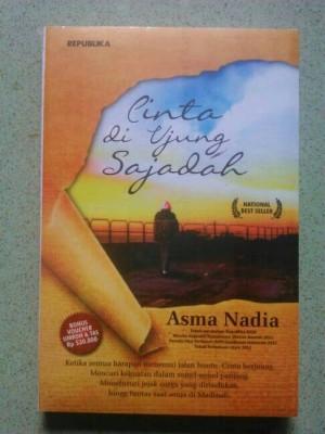 Harga novel cinta di ujung sajadah   asma | HARGALOKA.COM