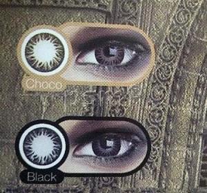 Katalog Softlens Zuhra Big Eyes Black Dan Chocho Bisa Minus Cairan Katalog.or.id