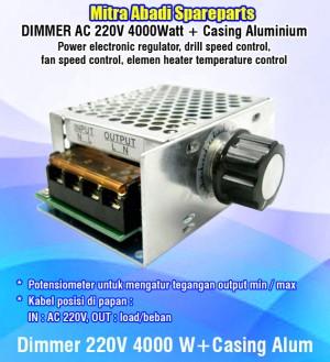 Katalog Dimmer Ac 220 Volt 4000 Watt Casing Aluminium Katalog.or.id