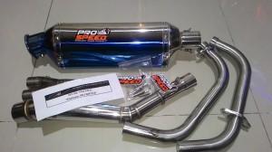 Harga knalpot prospeed blue ninja 250 fi z250 | HARGALOKA.COM