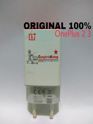 Harga kepala batok adaptor oneplus 2 3 original 100 | HARGALOKA.COM