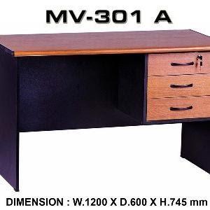 Harga meja kantor 1 2 biro vip mv 301 | HARGALOKA.COM