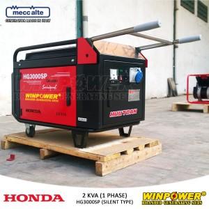 Harga genset generator honda 2000 watt silent type winpower   hg3000sp | HARGALOKA.COM