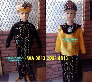 Harga daerah betawi couples baju karnaval adat kostum pentas seni   HARGALOKA.COM