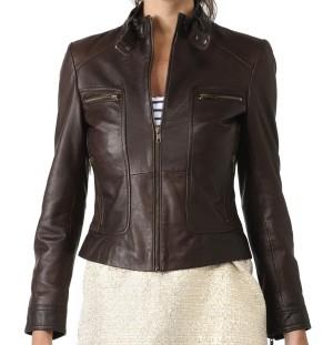 Harga jaket kulit domba asli wanita murah grosir pre order | HARGALOKA.COM