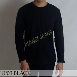 Harga baju kaos polos pria polosan cowok warna hitam tangan lengan | HARGALOKA.COM